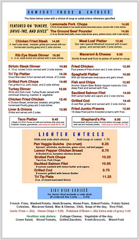 comfort inn menu gold n silver inn reno menu