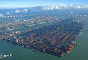 rotterdam port half throughput dips earnings fall