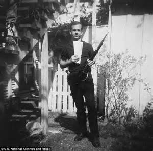 oswald backyard photos lee harvey oswald was innocent but his gun was used to