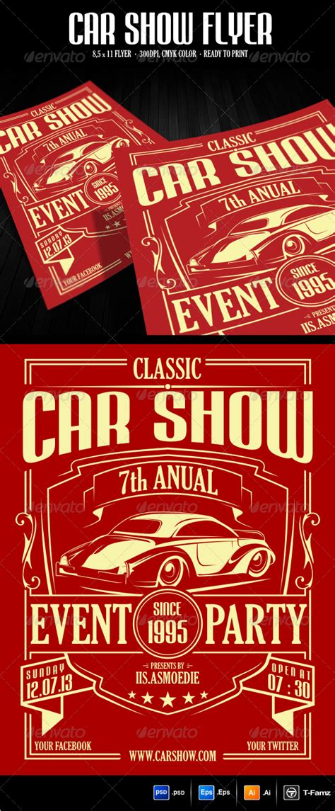 Car Show Flyer Www Pixshark Com Images Galleries With A Bite Show Template