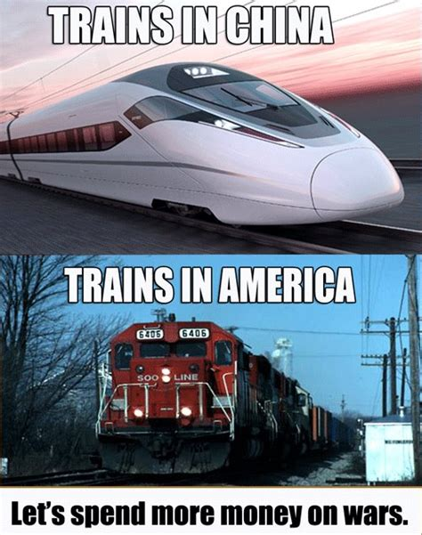 trains in america trains in china and america imghumour