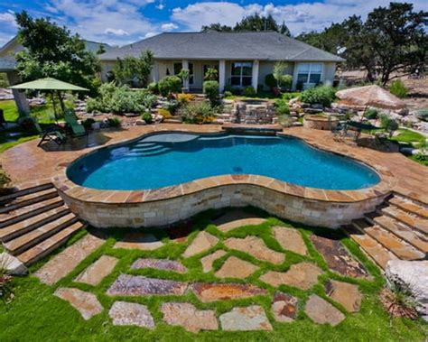tips   ground pool landscaping ideas