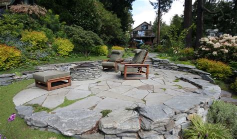Images Of Flagstone Patios - how to set up a flagstone patio design