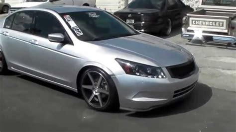honda accord 20 inch rims dubsandtires 20 inch stance sc 6 silver machine