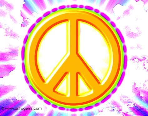 Free Peace Wallpaper Peace Sign With Color On Inside
