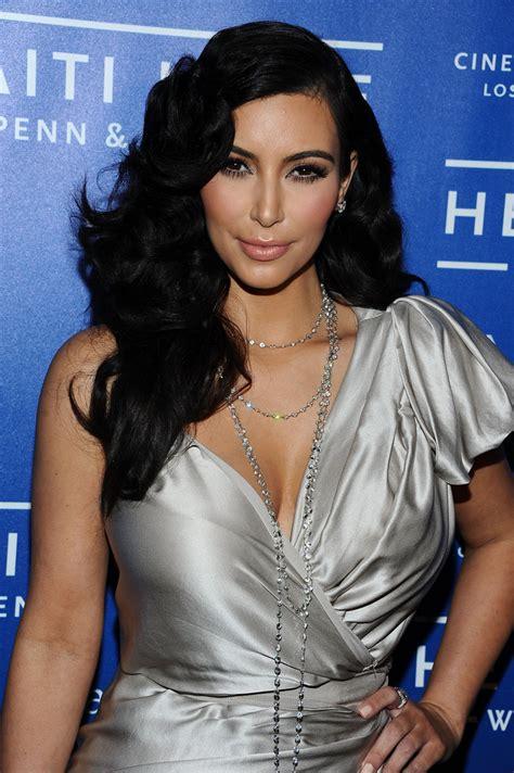 hairstyles for long hair kim kardashian kim kardashian long curls lookbook stylebistro