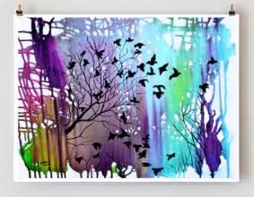 items similar to giclee print tree art wall d 233 cor