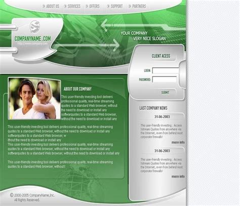 templates for advertising website advertising company website template over millions