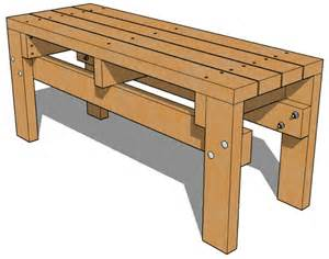 how to build a basic bench 2x4 bench seat plans woodworking projects plans
