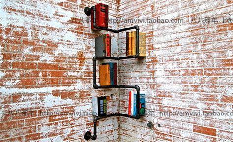 Rak Buku Dinding Kreatif rak buku cafe dekoratif bingkai hiasan dinding dekoratif