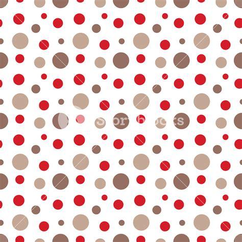 brown polka dot pattern red and brown polka dots pattern royalty free stock image