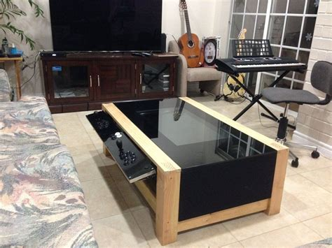 Arcade Coffee Table Diy Arcade Coffee Table Coffee