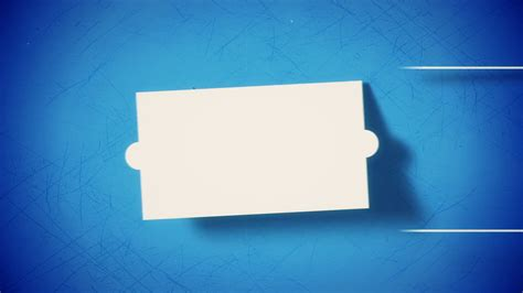design elements of motion media and information vintage stylized solid elements flat animation on blue