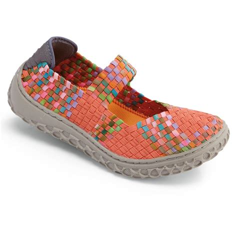 woven elastic shoes woven elastic stretchy comfort style shoes ebay