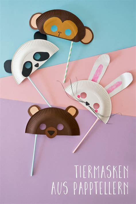 Masken Basteln Kindergarten by Die Besten 25 Masken Basteln Ideen Auf
