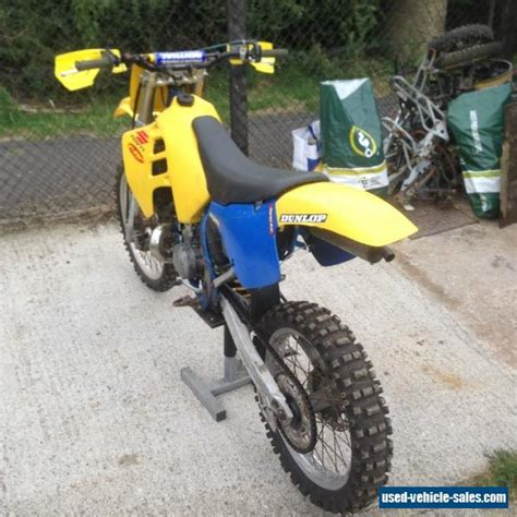 250cc motocross bikes for sale 1989 suzuki rm for sale in the united kingdom