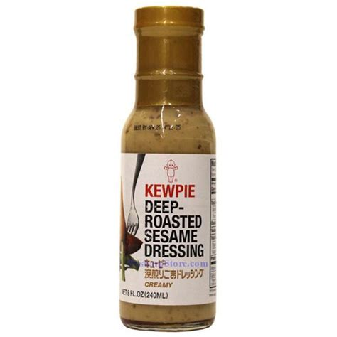 kewpie sesame dressing kewpie roasted sesame dressing 8 fl oz