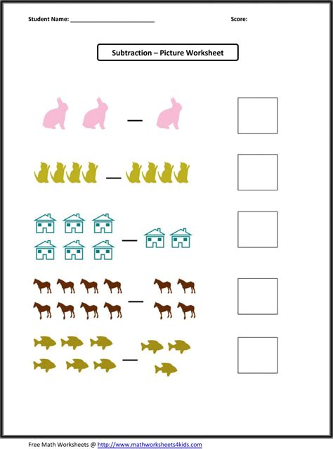 Worksheet Site by Uncategorized Kindergarten Math Subtraction Worksheets