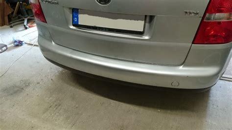 Beim Lackieren Richtig Abkleben by Vw Touran Smart Repair Lackieren