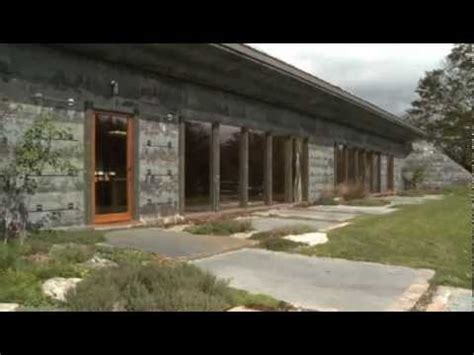 Berm House by Tour An Earth Bermed House In Upstate New York Youtube