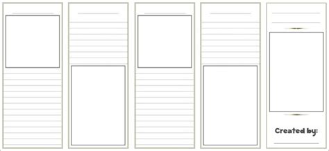 Free Blank Tri Fold Brochure Templates Csoforum Info Free Brochure Templates For Students