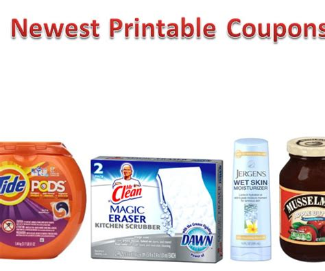 Jergens Printable Coupons