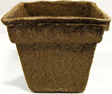 biodegradable plant pots growing containers for plants biodegradable cowpots 7 quot inch square plant pots loose 12