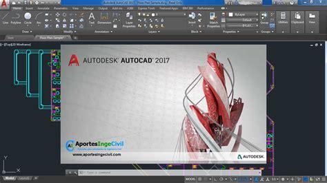 layout autocad 2017 descargar autocad 2017 32 64 bit espa 241 ol e ingles