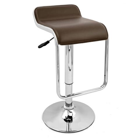 bar stools chrome ttf162 black chrome bar stool