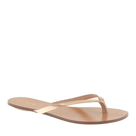 j crew gold sandals j crew metallic sandals in gold brocade gold lyst