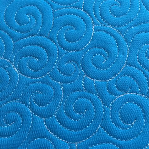 Free Motion Quilt Patterns by How To Free Motion Quilt Swirl Designs Weallsew