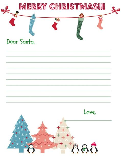 free printable santa letters pdf christmas stationary free printables sweet tea saving