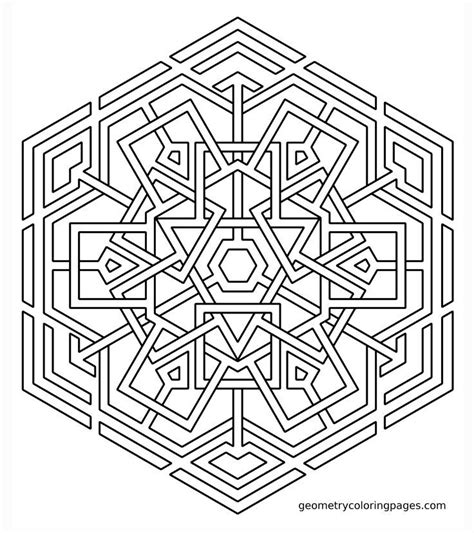 coloring pages geometric geometric mandala coloring pages coloring home