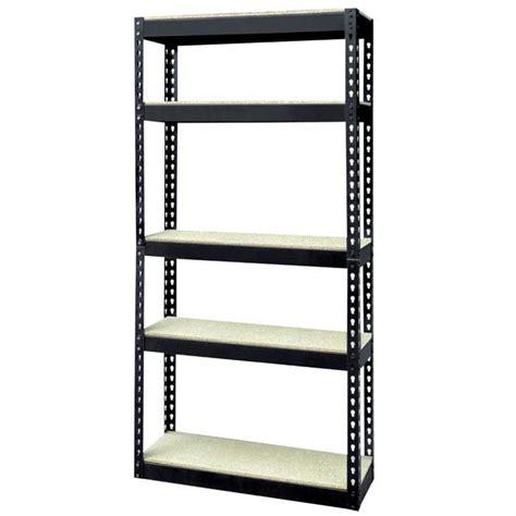 Etageres Metal etag 232 re 5 niveaux bois m 233 tal 180x80x40cm achat vente etabli meuble atelier cadeaux de