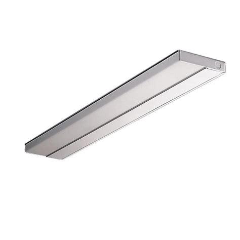 metalux 33 in white t5 ultra slim undercabinet light