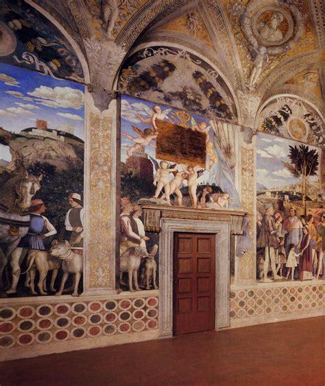 palazzo ducale mantova degli sposi frescoes in the degli sposi ducal palace mantua