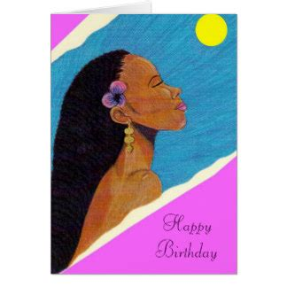 Afro American Birthday Cards African American Women Birthday Gifts On Zazzle