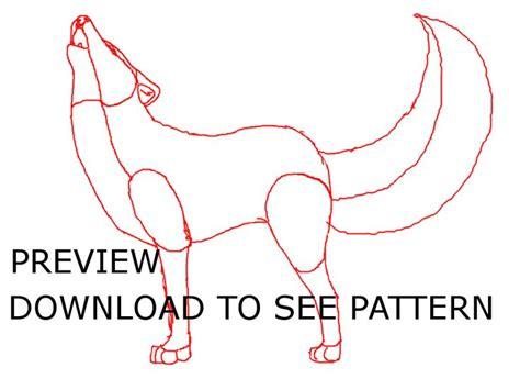 felt wolf pattern 17 best images about quiet book templates on pinterest