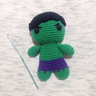 amigurumi hulk pattern ravelry hulk amigurumi pattern by kelsey barros