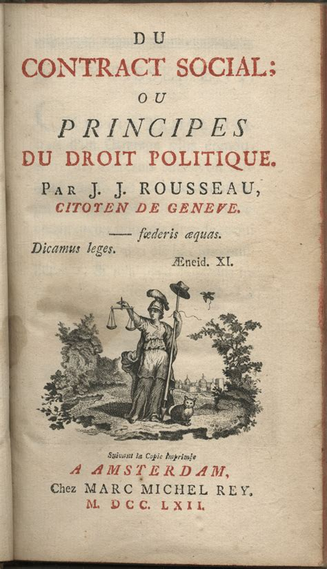 The Social Contract social contract jean jacques rousseau quotes quotesgram