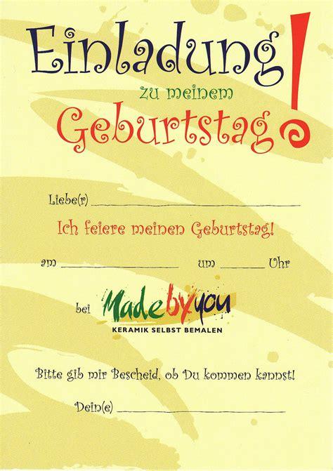 Kostenlose Vorlagen Geburtstag Einladungskarten Drucken Einladungskarten Drucken