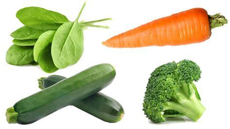 4 vegetables in 4 great side veggies