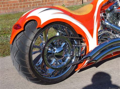high end motorcycle 300mm rsd single sided high end softail motorcycle by dave