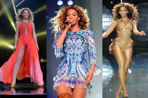 best tour beyonce s best tour costumes