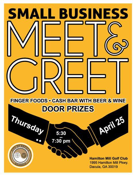 meet and greet flyer template meet n greet flyer on behance