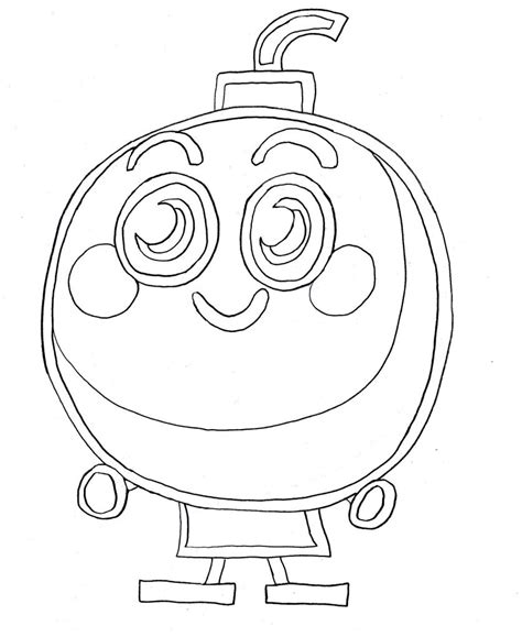 Moshi Moshlings Colouring Pages Moshling Coloring Pages