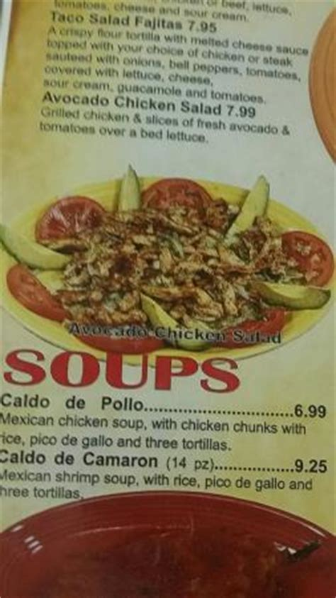 Tequila Jalisco Knob Noster Menu by Menu Picture Of Tequila Jalisco Mexican Restaurant Knob