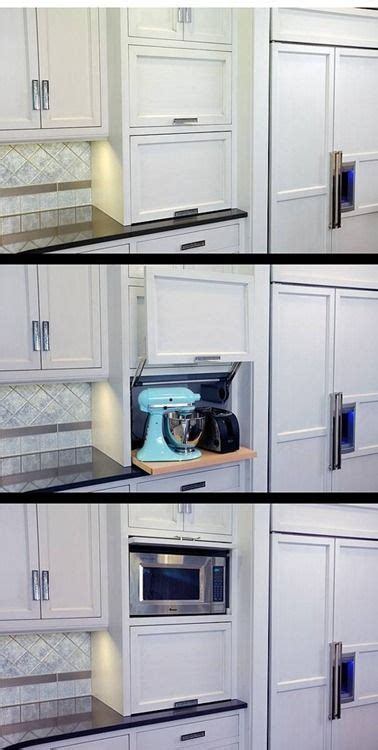 Appliance Storage Cabinet Best 25 Appliance Cabinet Ideas On Pinterest Appliance Garage Kitchen Cabinet Makers And