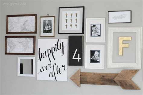 living room gallery wall love grows wild diy project of the week at home gallery wall homeyou