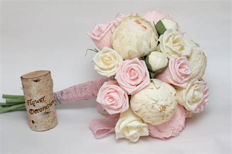 Make A Paper Flower Bouquet - with your wedding bouquet the fifth